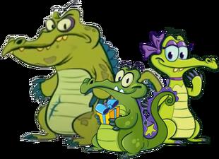 Swampy Allie and Cranky Birthday