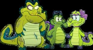 Swampy Allie and Cranky