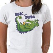 Swampy sink or swim tshirt-p235841897984889124b8giq 400