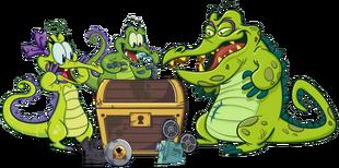 DEDSEC17 Swampy Allie and Cranky Treasure