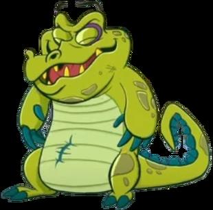 Crankygator happy