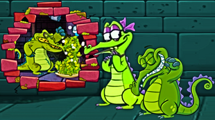 I hope that wasn't Swampy and his gorgeous girlfriend Allie!