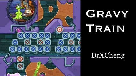 Where's My Water? Walkthrough - Gravy Train (Levels of the Week) HD