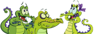 Swampy Cranky Allie look up