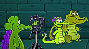 DEDSEC17 Swampy Allie & Cranky behind the scenes Fanart