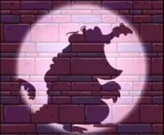 Cranky Spotlight on Wall