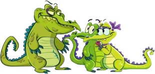 Swampy and Allie Romance