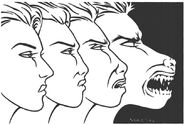 Garou shapeshifting - Players Guide 1st Ed
