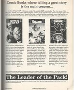 White Wolf Comic Book Ad