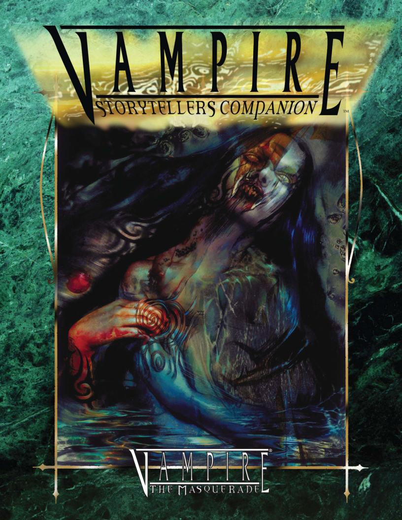 Vampire Storytellers Companion
