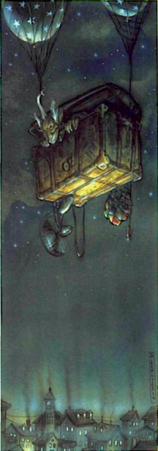 Nocker Airship