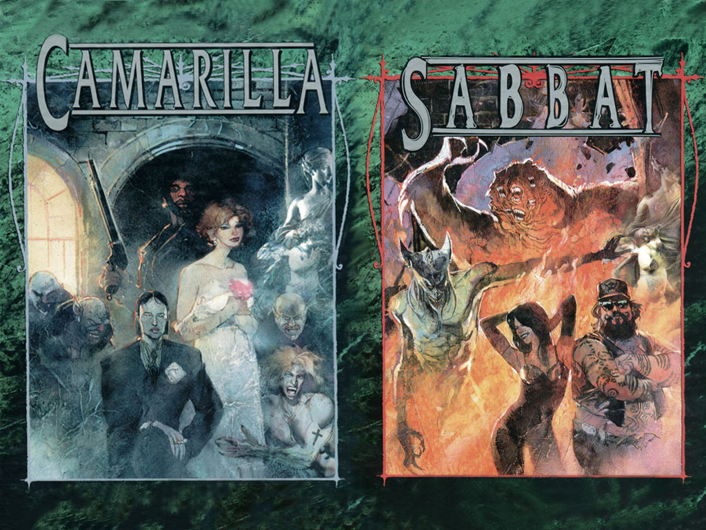 Guide to the Camarilla and Sabbat (limited)