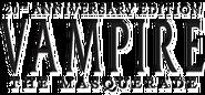 Vampiro La Mascarada Edición 20 Aniversario logotipo