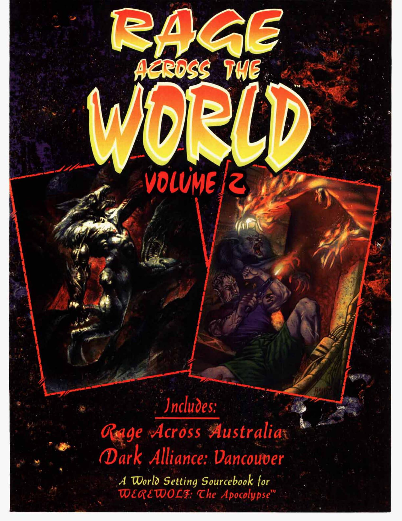 Rage Across the World Volume 2