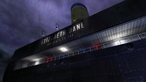 The aft of the Elizabeth Dane.