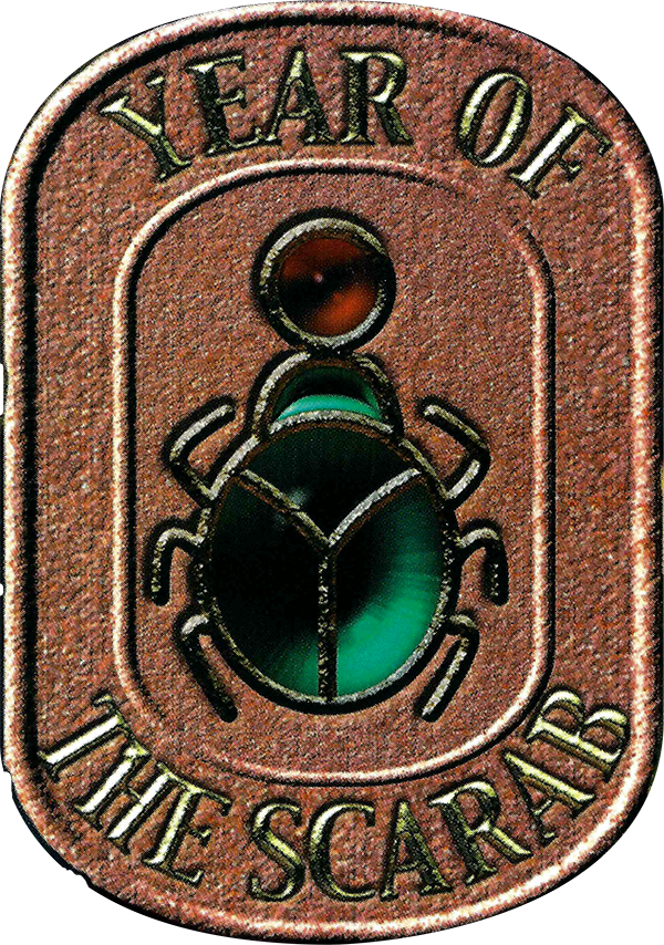Year of the Scarab