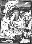 Silver Fangs battle the Wyrm