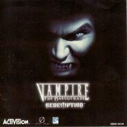 Vampire The Masquerade - Redemption cover Reino Unido