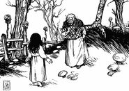 Baba Yaga & Vasilisa showdown