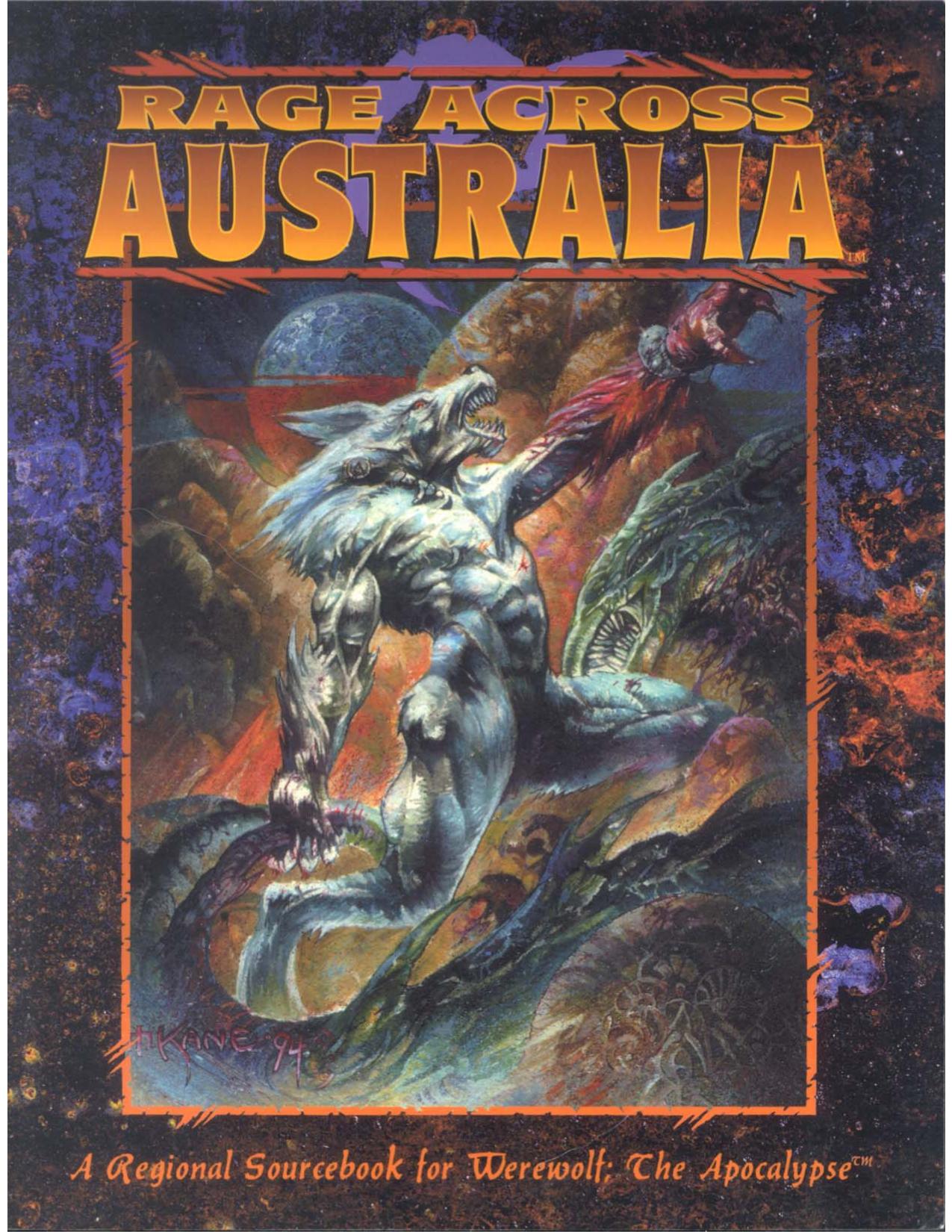 Rage Across Australia