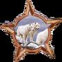 White Wolf pack member