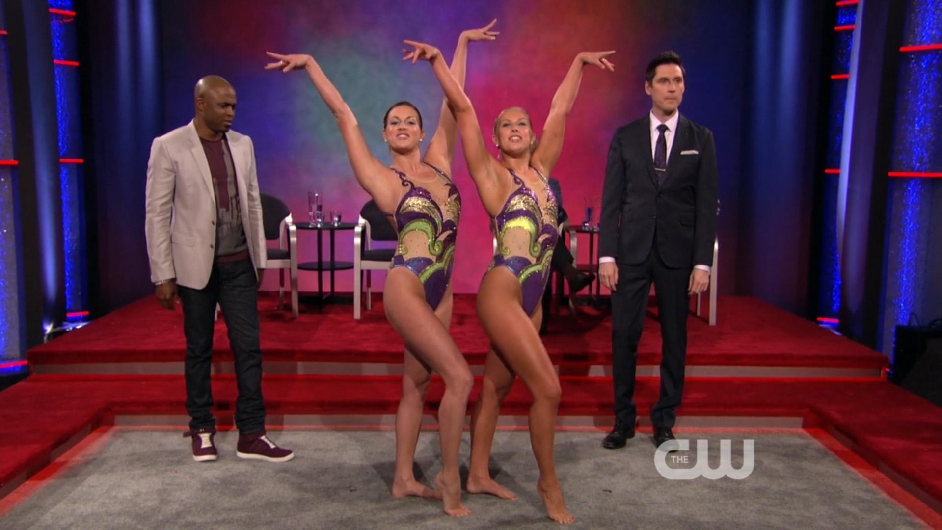 US Olympic Synchronized Swimming Team
