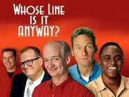 Whoes line cast