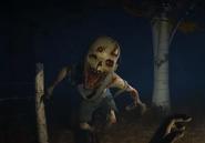 Caleb's creepy face