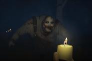 Benny's creepy face