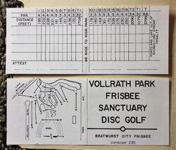 1981 Bratwurst City Frisbee scorecard.jpg