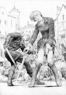 L I RU Geralt i Renfri 2