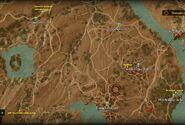 Toussaint - zadania na północ od Beauclair