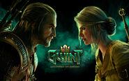 G T Geralt i Ciri