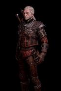 G SS Geralt Arcymistrzowski Rynsztunek Cechu Wilka skórka