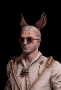G SS Geralt uszy osła skórka