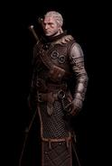 G SS Geralt Arcymistrzowski Rynsztunek Cechu Niedźwiedzia skórka