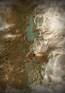W3 SS Mapa Dolina Kaer Morhen