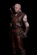 G SS Geralt w skórzanej zbroi skórka