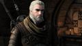 Geralt w ciężkiej zbroi cechu Niedźwiedzia.png