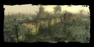 Wyspa na cmentarzu