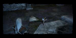 Geralt discovers Ilsa's body