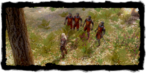 Geralt mit den Rittern des Ordens