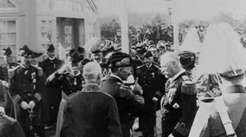 Kaiser Wilhelm II in Denmark, 1903