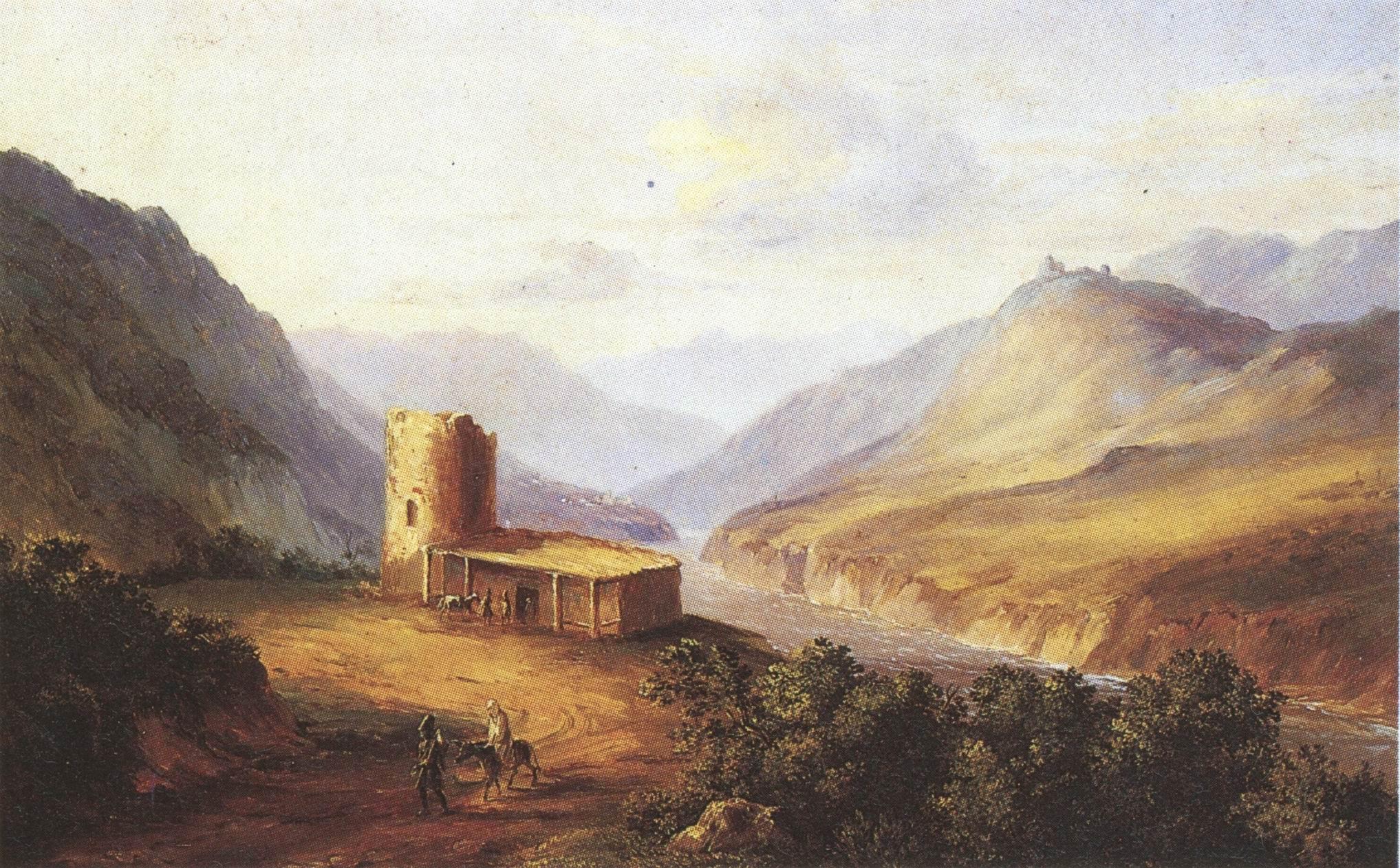 Chadży Abrek (Lermontow, przekł. Budziński)