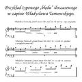 Przykład typowego błędu iloczasowego w zapisie Władysława Tarnowskiego - pl