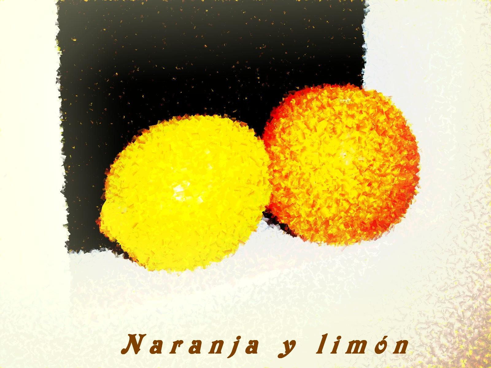 Pomarańcza i cytryna