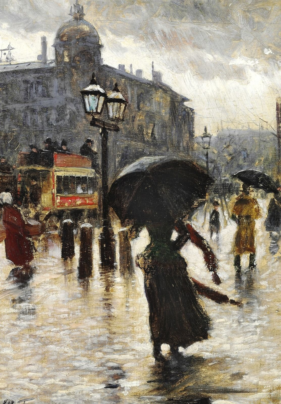 Deszcz (Robert Louis Stevenson)