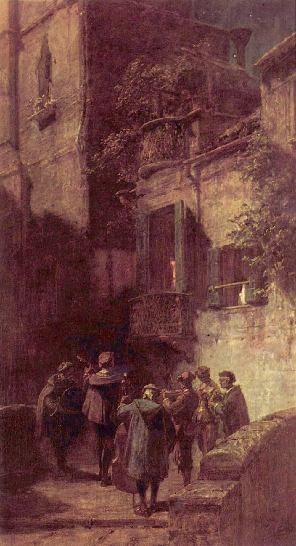 Serenada (Łuczyna, tł. Electron)