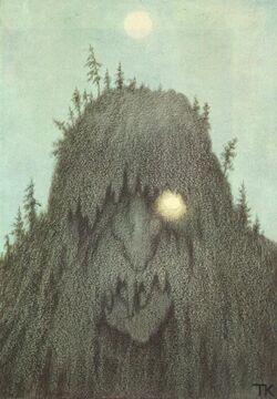 Theodor Kittelsen - Skogtroll, 1906 (Forest Troll).jpg