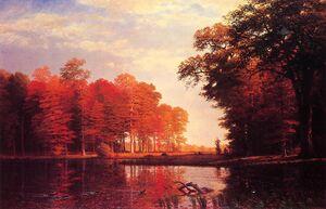 Bierstadt Albert Autumn Woods.jpg